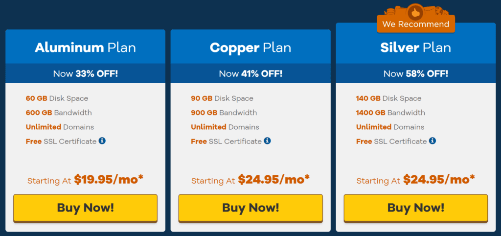 Hostgator Reseller Hosting Pricing
