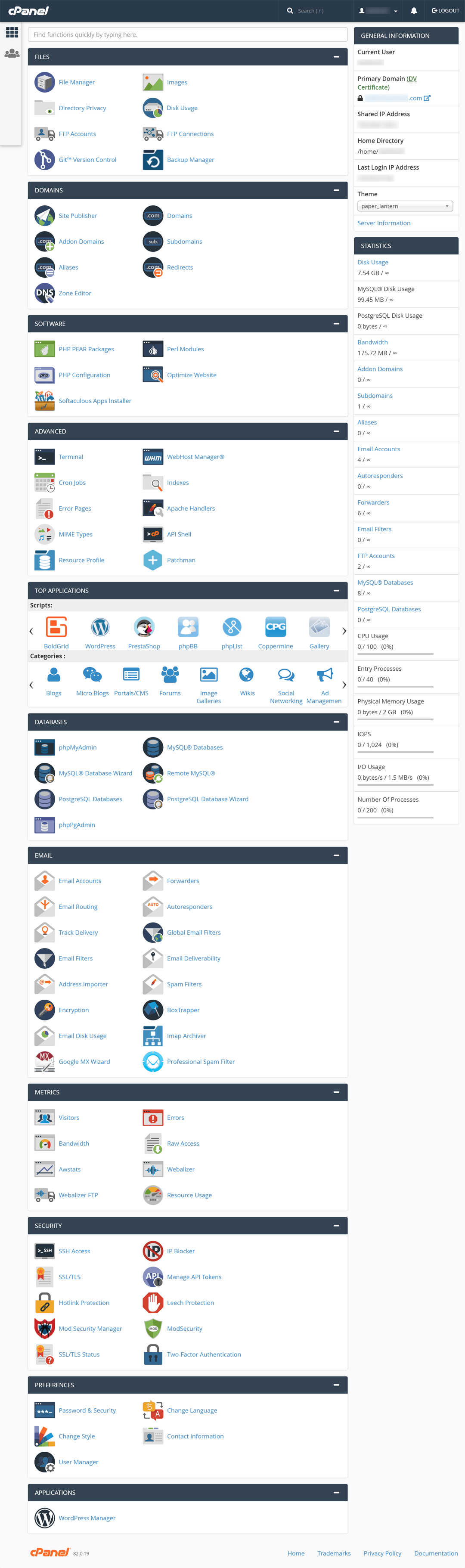 InMotion-Reselle Hosting cPanel