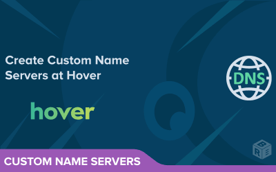 Create Custom Name Servers at Hover