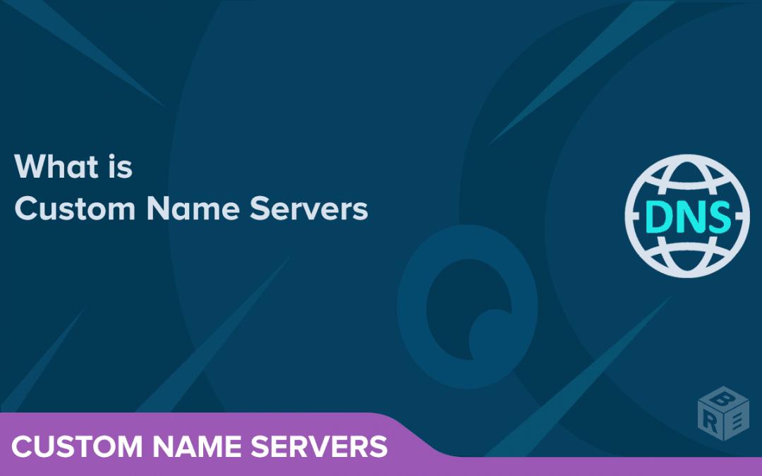 What is Custom Name Servers